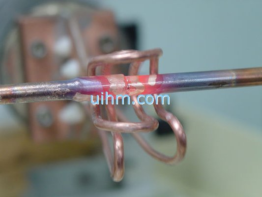 Induction Brass Soldering Copper Pipe United Induction Heating Machine Limited Of China