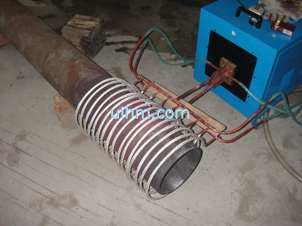 Induction Heating Big Steel Pipe United Induction Heating
