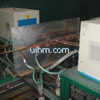 induction annealing steel wire online