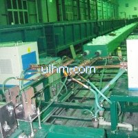 induction tempering steel wire online