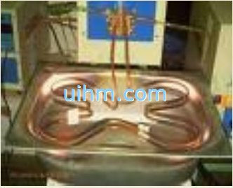 induction annealing water channel
