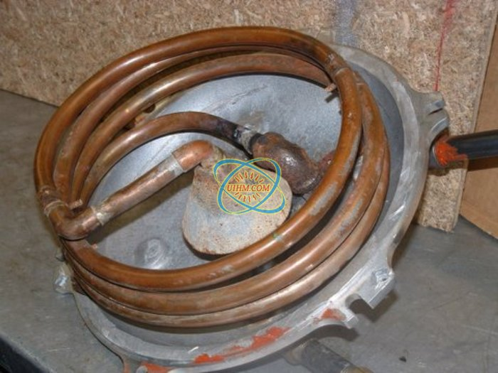 Special Induction coil for heating motor_3