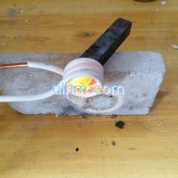 induction brazing TCT knife