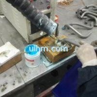 induction brazing oil tube