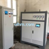 120KW full air cooled induction heater for providing heating to school house