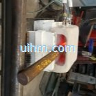 induction coil for forging steel rod