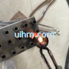 induction brazing SS steel by handheld induction coil